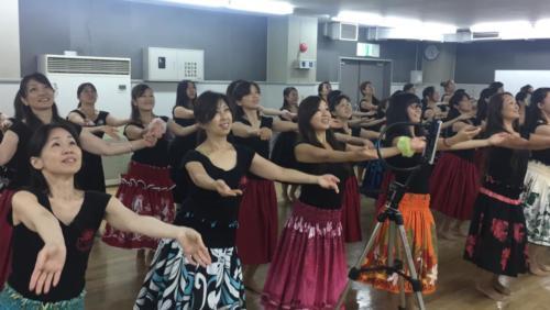 Kumu Lei Aloha Lim Amina ハーラウプライベートワーク