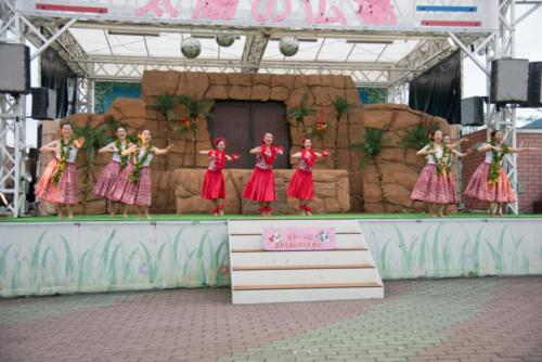 よみうりランド太陽の広場フラショー