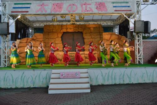 よみうりランド 太陽の広場フラショー